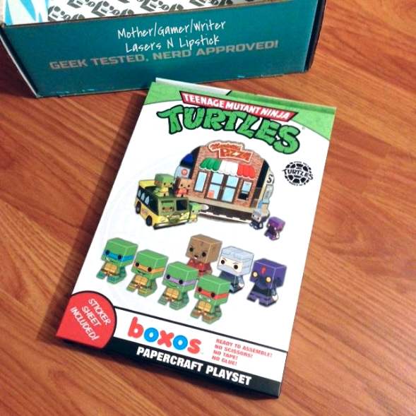 Funko Teenage Mutant Ninja Turtles Papercraft Playset