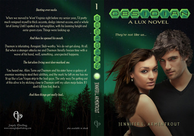 OBSIDIAN A New and Exciting Novel From Jennifer L. Armentrout