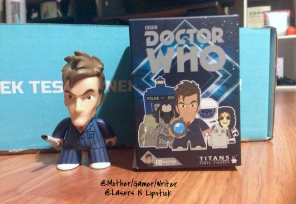 Dr. Who Titans Vinyl Figures Mystery Blind Pack Includes  nerd block june 2014