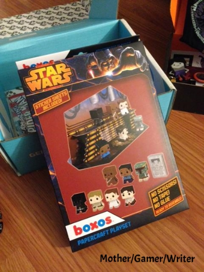Star Wars Boxos Papercraft Playset