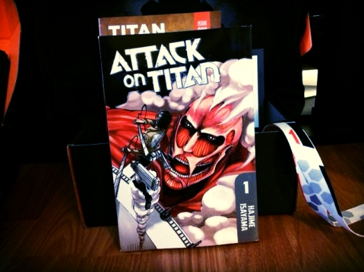 Attack on Titan 1 Paperback by Hajime Isayama