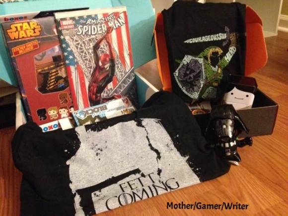 nerd block and loot crate may 2014