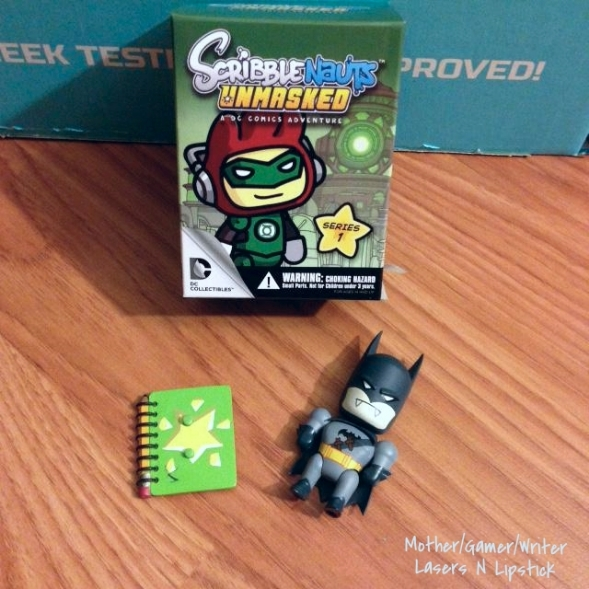 Scribblenauts UnMasked Blind Box Mini Figure