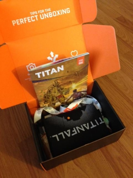 march 2014 titanfall loot crate