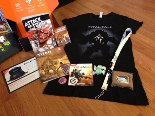 march 2014 loot crate all