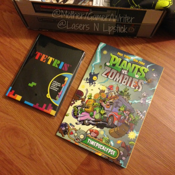 Arcade Block January Plants vs Zombies Comic and Tetris notebook