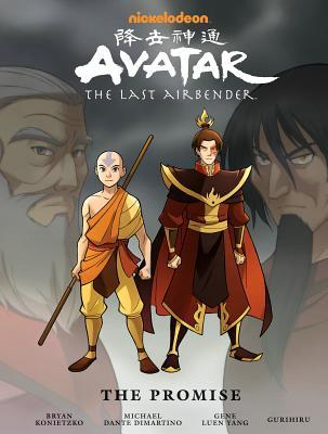 Avatar The Last Airbender The Promise Cover
