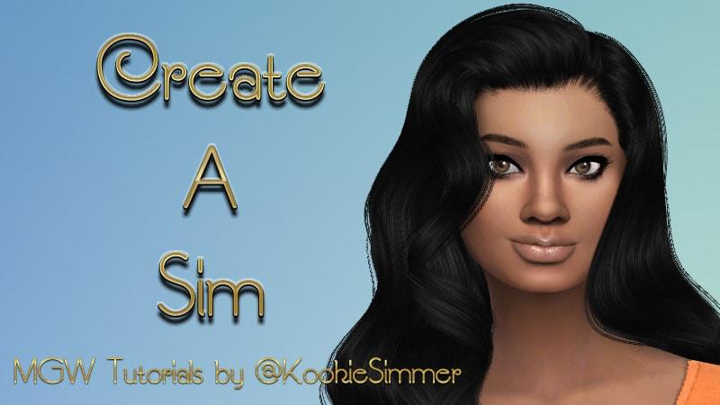 Create A sim-min banner