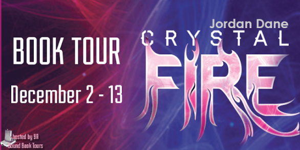 #Giveaway:  Crystal Fire (The Hunted #2) by Jordan Dane