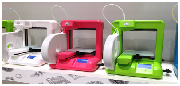 Cube line of 3D printers by 3D Systems