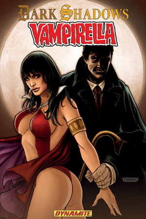 Graphic Novel Review | Dark Shadows and Vampirella Tp by Patrick Berkenkotter
