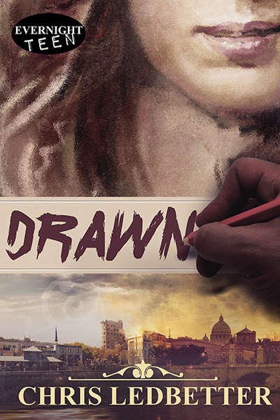 Cover Reveal & #Giveaway: Drawn by Chris Ledbetter!