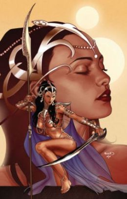 Dejah Thoris Volume 4 The Vampire Men of Saturn Tp Cover