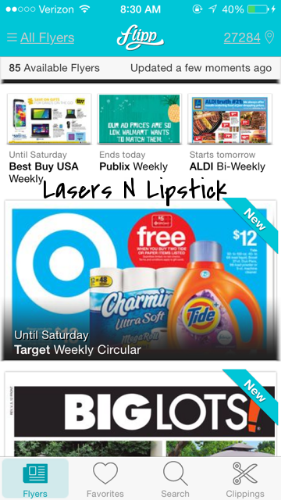 Let's Coupon With Apps: Target Cartwheel, Flipp, Coupon Keeper 2, & Walgreens