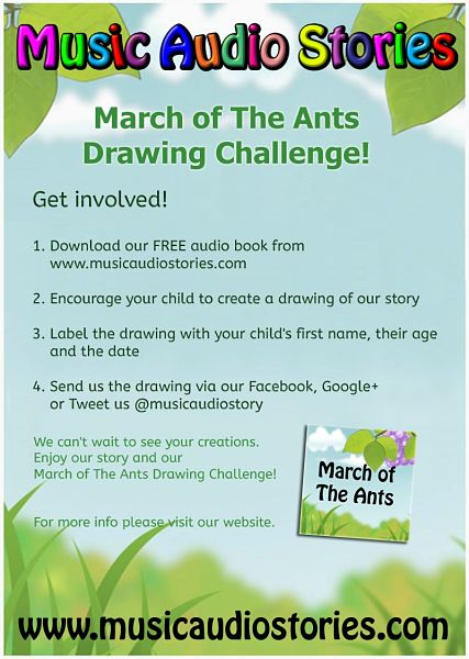 #Free Kids and Family Event | March of The Ants Drawing Challenge!