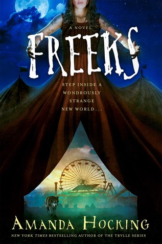 freeks book cover by amanda hocking