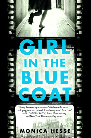 Girl in the blue coat book cover