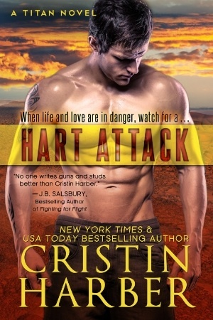 ARC Review: Hart Attack (Titan #7) by Cristin Harber