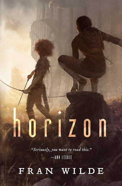 Review, Excerpt, & Giveaway | HORIZON by Fran Wilde