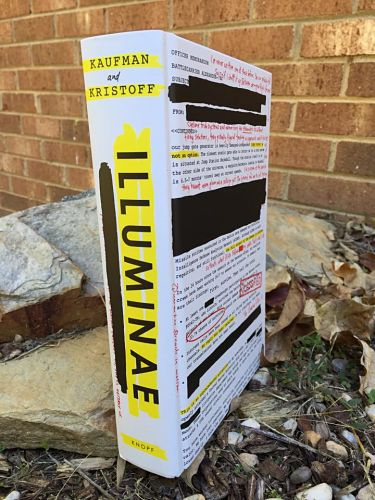 Illuminae (The Illuminae Files #1) by Amie Kaufman and Jay Kristoff book cover without jacket_opt
