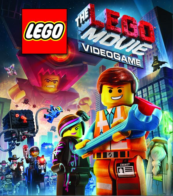 Lego movie videogame box art