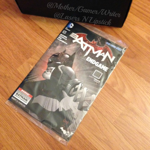 Loot Crate December 2014 batman comic