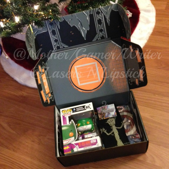 Loot Crate December 2014 open box