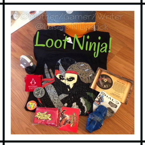 Loot Crate Unboxing November 2014  all unboxed.png