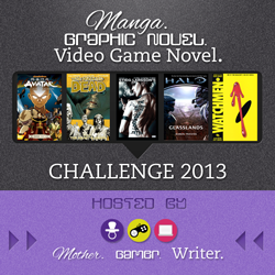 Manga/Graphic Novel/Video Game Novel Challenge 2013: November Link-Up & Challenge Giveaway