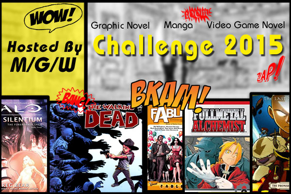 Manga/Graphic Novel/Video Game Novel Challenge 2015:April-June Link Up