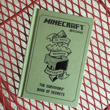 Minecraft Survivors book of secrets book cover