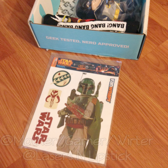 Nerd Block November 2014 Boba Fett Car Sticker.png