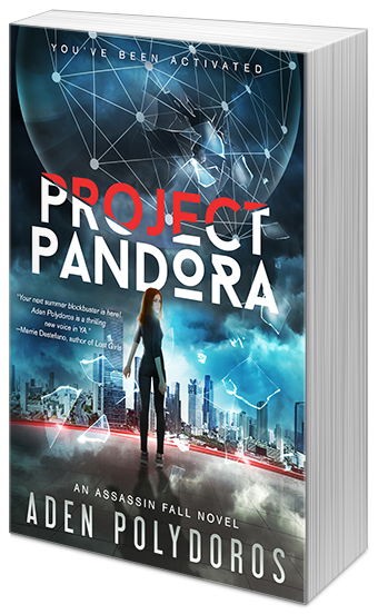 Happy Release Week + #Giveaway | Project Pandora by Aden Polydoros