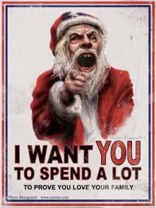 Spending santa