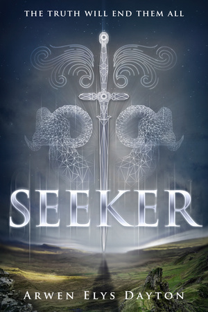 ARC Review + #Bookpics: Seeker (Seeker, #1)  by Arwen Elys Dayton