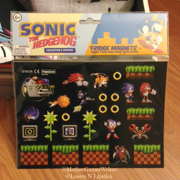 Sonic the Hedgehog Fridge Magnets Arcade Block December 2014
