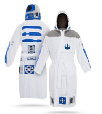 Star Wars R2D2 Bathrobe.