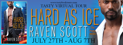 hard as ice blog tour banner