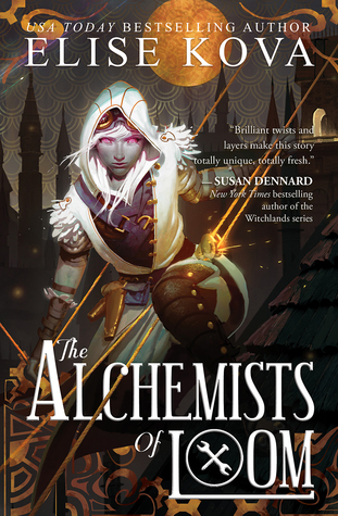 Review: The Alchemists of Loom (Loom Saga #1) by Elise Kova | #Steampunk
