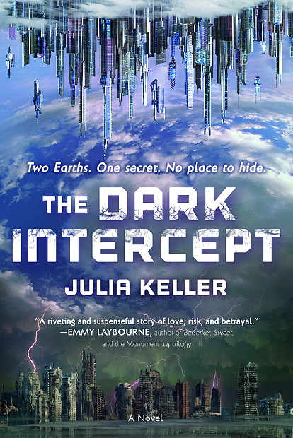 Giveaway, Excerpt & Review | The Dark Intercept (The Dark Intercept #1) by Julia Keller