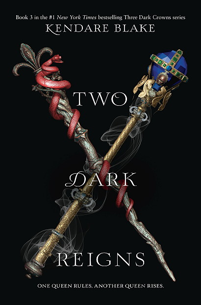 Two Dark Reigns by Kendare Blake | Review + #Giveaway!