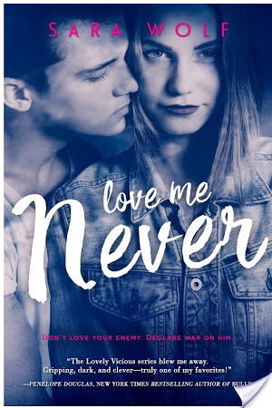 Love Me Never (Lovely Vicious #1) by Sara Wolf |5 Controller #Review