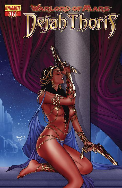 Warlord of Mars Dejah Thoris Issue 17 Cover