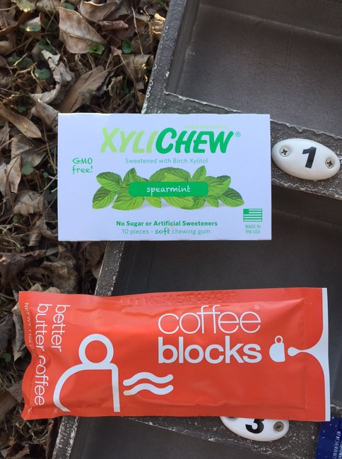 XyliChew - Spearmint and coffee blocks