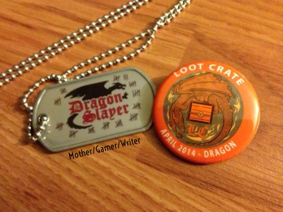 Dragon Slayer Necklace-april 2014 loot crate