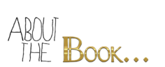 about the book banner gold and black