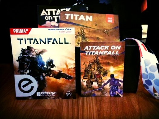 Attack on Titanfall Magnet - Loot Crate Labs Titanfall Premium Strategy eGuide - Prima Games