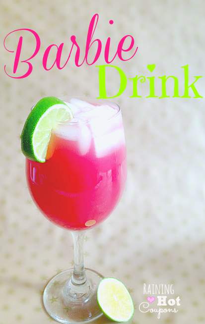 Cocktail Wednesday Episode 13: Hot Pink Barbie Drink