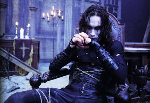 brandon-lee-as-thecrow