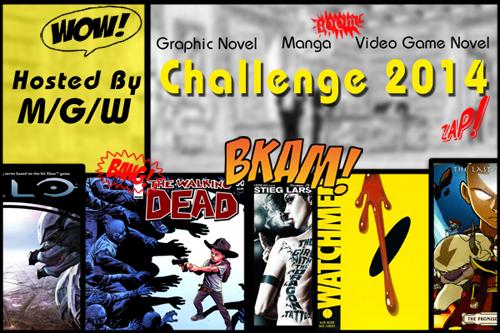 Manga/Graphic Novel/Video Game Novel Challenge 2014: April - June Link Up